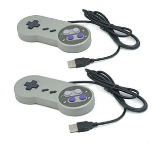 2X-QUMOX-manette-de-jeu-SNES-SFC-PC-pour-Windows-PC-USB-Super-Famicom-US-0