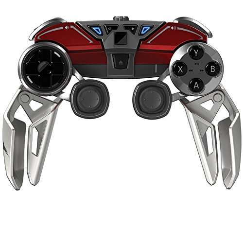 Manette-mobile-hybride-mad-catz-lynX9-pour-PC-appareils-android-rouge-0