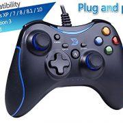 ZD-N-feedback-de-vibration-USB-par-fil-Manette-de-jeu-Gamepad-Controller-Joystick-Pour-PCWindows-XP788110-PS3-Android-Cadre-Xbox-360-noir-bleu-0-0