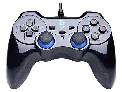 ZD-V-feedback-de-vibration-USB-par-fil-Manette-de-jeu-Gamepad-Controller-Joystick-Pour-PCWindows-XP788110-PS3-Android-Cadre-PS-noir-0