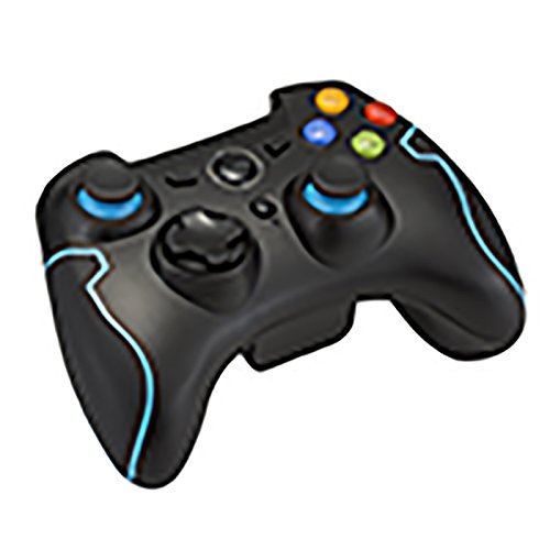 achat manettes ps3 sans fil easysmx 2 4g manette de jeu sans fil avec 18 boutons manette pc. Black Bedroom Furniture Sets. Home Design Ideas
