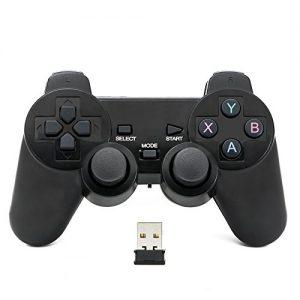 QUMOX-Contrleur-de-jeu-joypad-sans-fil-Bluetooth-gamepad-joystick-pour-PC-0
