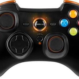 Speedlink-Torid-Amazon-Edition-Manette-de-Jeu-sans-fil-pour-Ordinateur-PortablePS3-24-GHZ-Xinput-et-DirectInput-Fonction-de-Tir-Turbo-Commutable-Orange-0