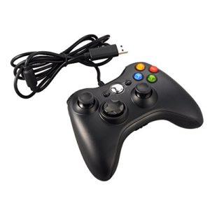 JAMSWALL-Manette-filaire-Xbox-360-Filaire-GamePad-Controller-Manette-du-Contrleur-de-Jeu-Filaire-Pour-PC-Android-TV-Box-Noir-0