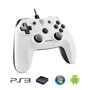 Manette-PS3-Fialire-EasySMX-EG-C3071C-Manette-PC-Dualshock-Fourni-avec-un-Adaptateur-Compatir-Playstation-3PCTV-BoxAndroid-Smartphone-Blanc-0