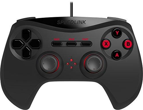 Speedlink-Strike-NX-Manette-pour-Ordinateur-PC-Gamepad-Fonction-de-Vibrations-Contrleur-USB-pour-PC-Noir-0