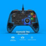 GameSir-T4w-Manette-PC-Manette-Filaire-pour-Windows-78-10-Manette-avec-Cble-pour-Windows-PC-Wired-Controller-PC-Manette-de-Jeu-avec-Rtroclairage-LED-Design-Semi-Transparent-0-0