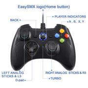 Manette-PC-PS3-Filaire-EasySMX-Manette-PS3-Gamepad-Filaire-avec-Double-Vibration-pour-PCAndroid-PS3-TV-BoxNoir-0-0