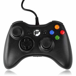 QUMOX-Contrleur-filaire-USB-Pad-Joystick-Joypad-Gamepad-Jeu-Controleur-Manette-pour-Xbox-360-Slim-et-PC-Ordinateur-portable-Windows-7-0