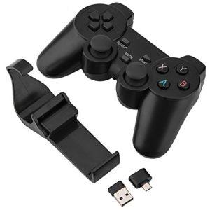 Asixx-Manette-PC-Manette-de-Jeu-sans-Fil-24G-Manette-Android-avec-2-Adaptateurs-USB-pour-Windows-PC-Android-TV-TV-Box-Android-Smartphone-Android-Tablette-0