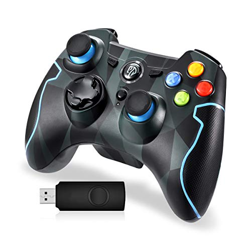 Manette-sans-Fil-24G-Manette-PC-Connecte-par-USB-Manette-PS3-avec-Dualshock-et-Turbo-Compatible-pour-PC-Windows-788110-PS3-AndroidVia-OTG-et-SimulateurCamouflage-0