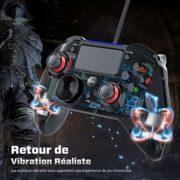 Version-Amliore-Manette-PS4-Filaire-PS3-Cbl-Contrleurs-de-Jeu-avec-Trigger-Compatible-avec-Playstaion4-PS3-PC-Windows-XP-78-8110-AndroidSteam-0-0