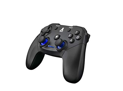 THE-G-LAB-K-PAD-THORIUM-Wireless-Manette-Gaming-PC-PS3-SANS-FIL-avec-Vibrations-Intgres-GamePad-Contrleur-de-Jeu-connect-sans-Fil-Manette-de-Jeu-pour-PC-Windows-XP-7-8-10-PS3-Android-Noir-0